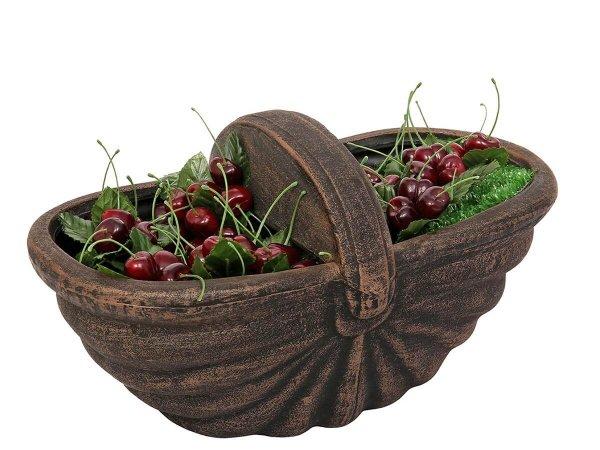 Интересна идея - кошничка за плодове - саксия с череши