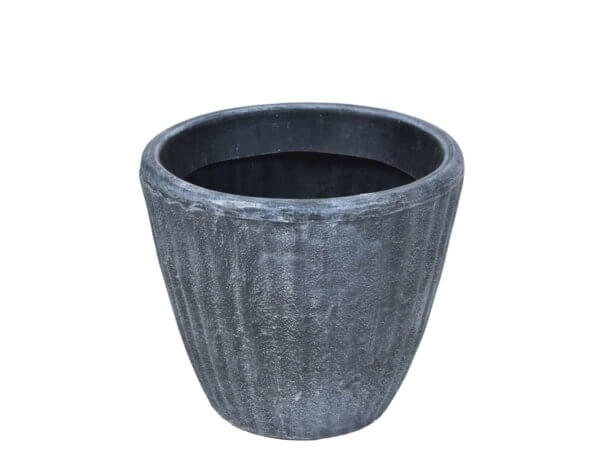 Кашпа имитиация бетон и камък - Кашпа за паркове и градини