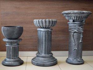 стойки и поставки за саксии и цветя - Колони и цветарници