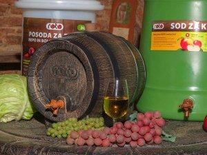 Декоративно буренце за вино и ракия - Буренце за подарък