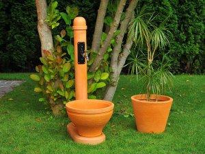 чешми за градината - чешма за двора готова за употреба