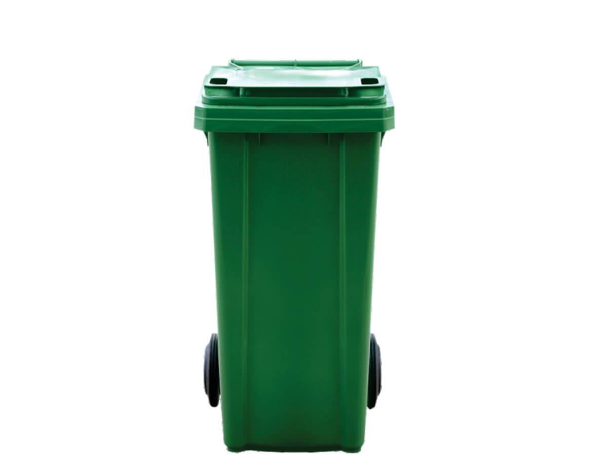 plastmasov kosh za smet i bokluv kofa 120 litra