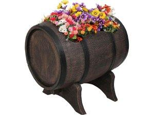 Голяма кашпа за декорация на градина - озеленяване на градини