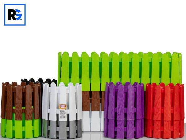 Декоративни саксии и сандъчета за цветя тип ограда от РОТО