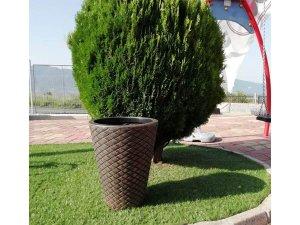 Декоративна кашпа за градината и двора - Озеленяване и обзавеждане за градината