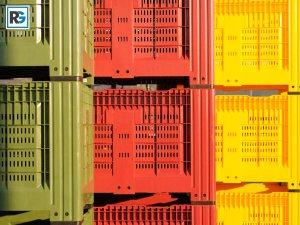 Пластмасов бокс палет с отвори - Агро Бокс за плодове и зеленчуци