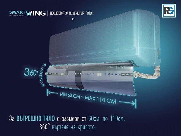 ДЕФЛЕКТОР ЗА ВЪЗДУШНИЯ ПОТОК иновативен продукт за предпазване от неприятния полъх на климатика