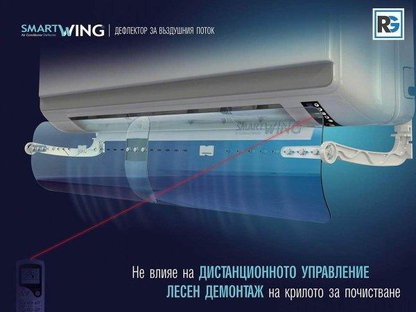Smart Wing устройва и дефлекотри за климатици