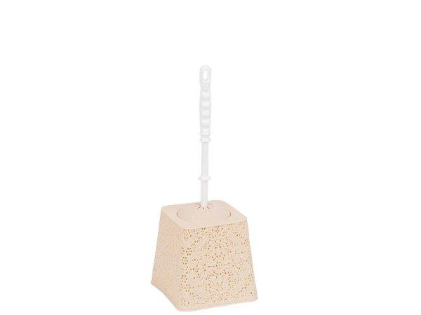 Декоративна Четка За Тоалетна Чиния - Елегантна Четка за тоалетна тип дантела