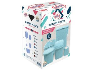 Комплект за баня Burdem дантела от 5 части - Roto Group