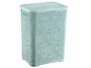 домашни потреби кош за дрехи 55 литра кош дантела пластмаса