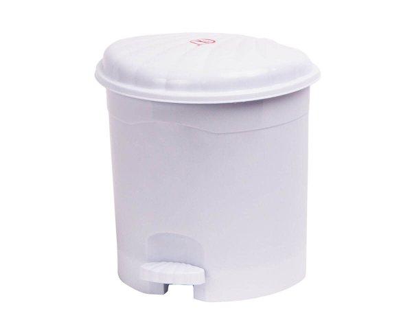 Пластмасова кошче за боклук с педал