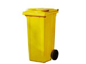 контейнер за боклук на колела - разделно събиране на отпадъци